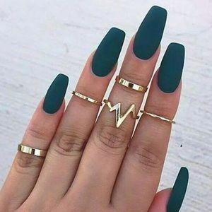 New!🌟Gold Ring Set